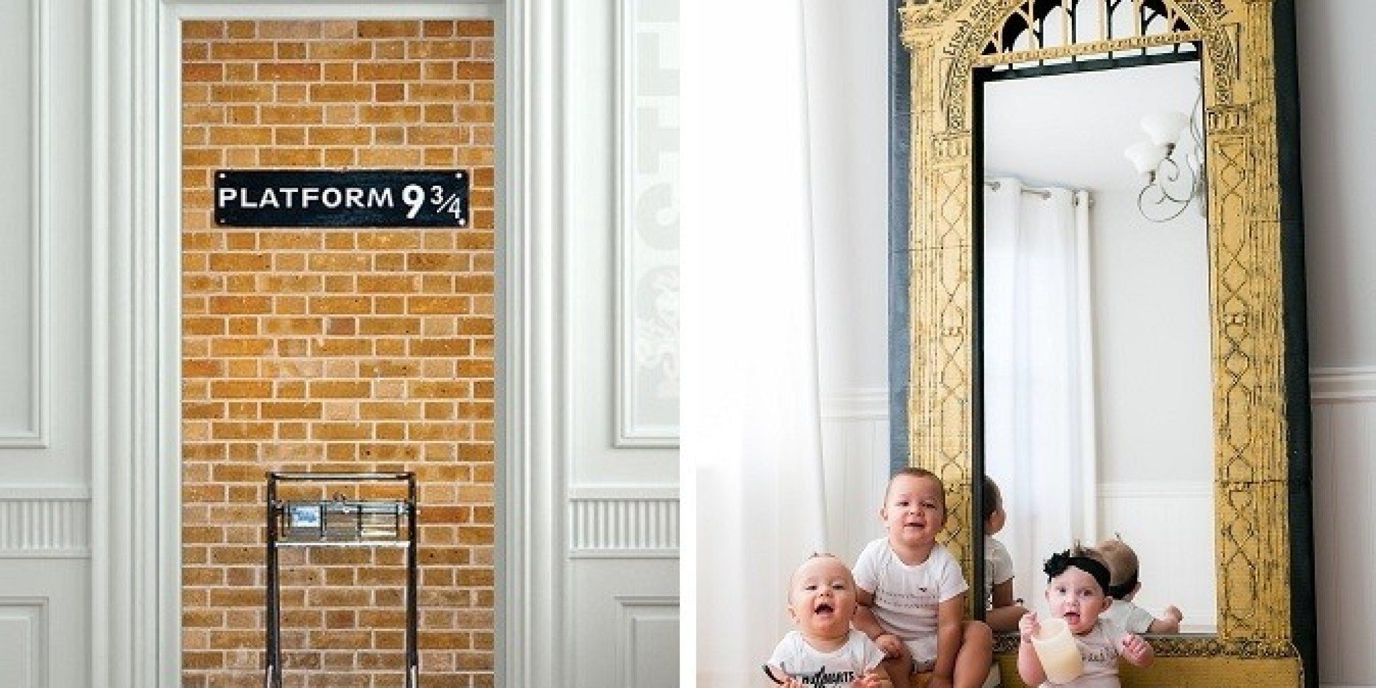 39 harry potter 39 room decor 19 ideas to make your kids for Decoration harry potter