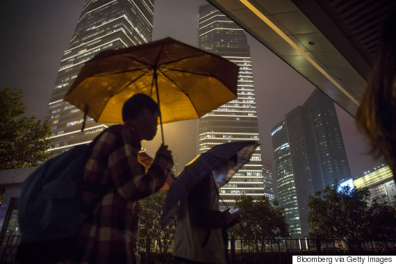 shanghai commuters
