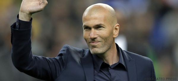 Zinedine Zidane es el nuevo entrenador del Real Madrid