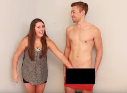 Quand des lesbiennes touchent un pénis pour la première fois (VIDÉO)