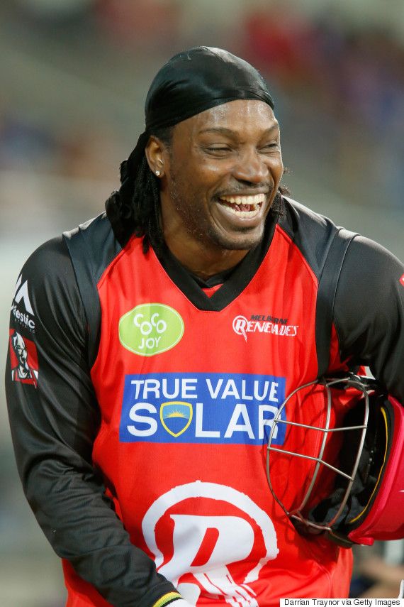 chris gayle january 2016