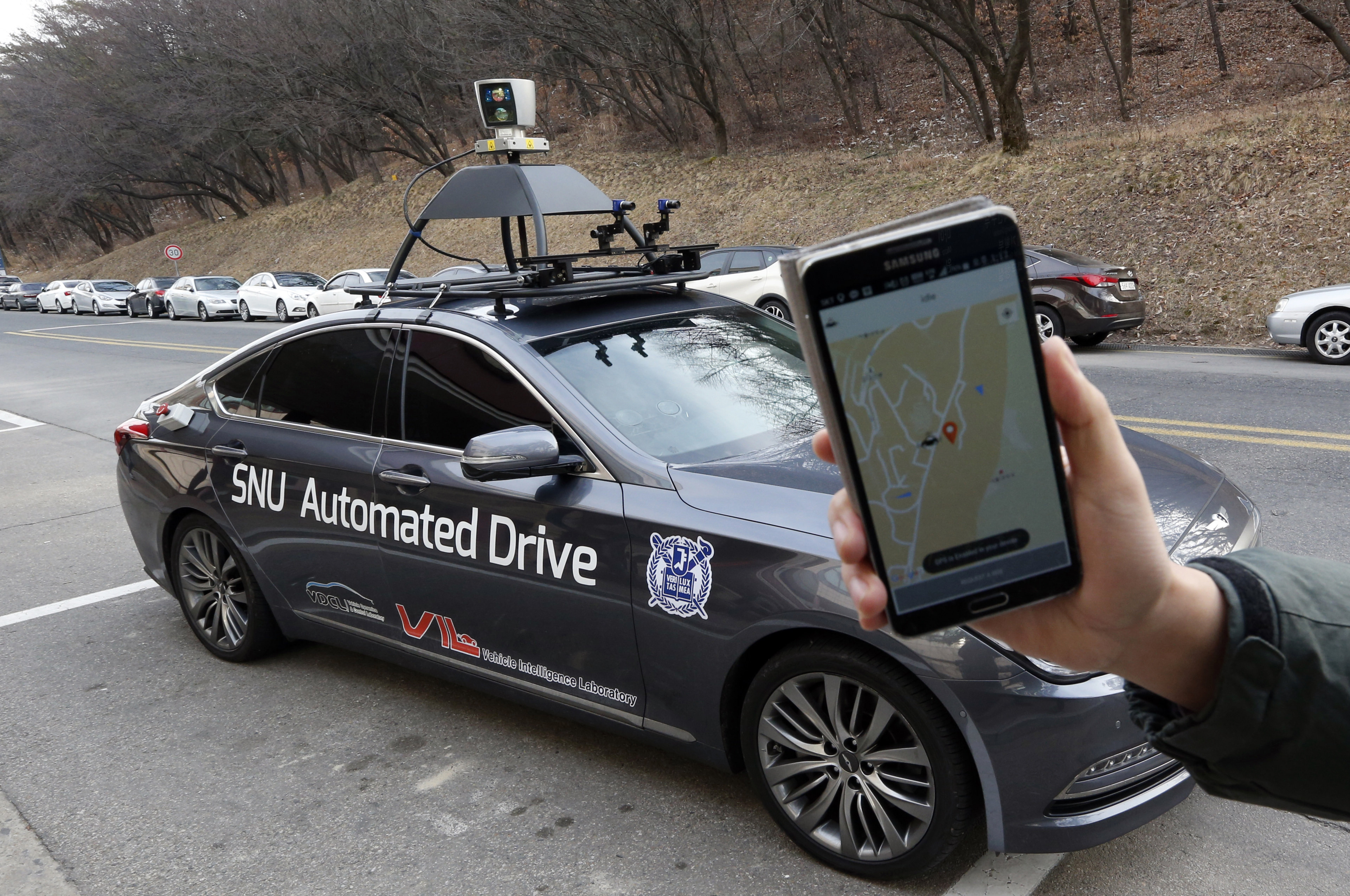 snuber driverless taxi