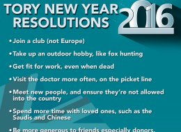 REVEALED: Acceptable Conservative Party New Year's Resolutions For 2016
