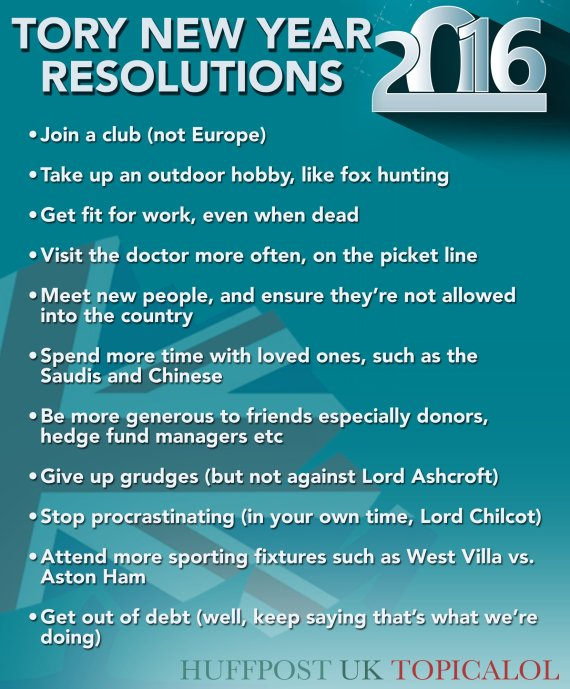 tory new years resolutions conservative party