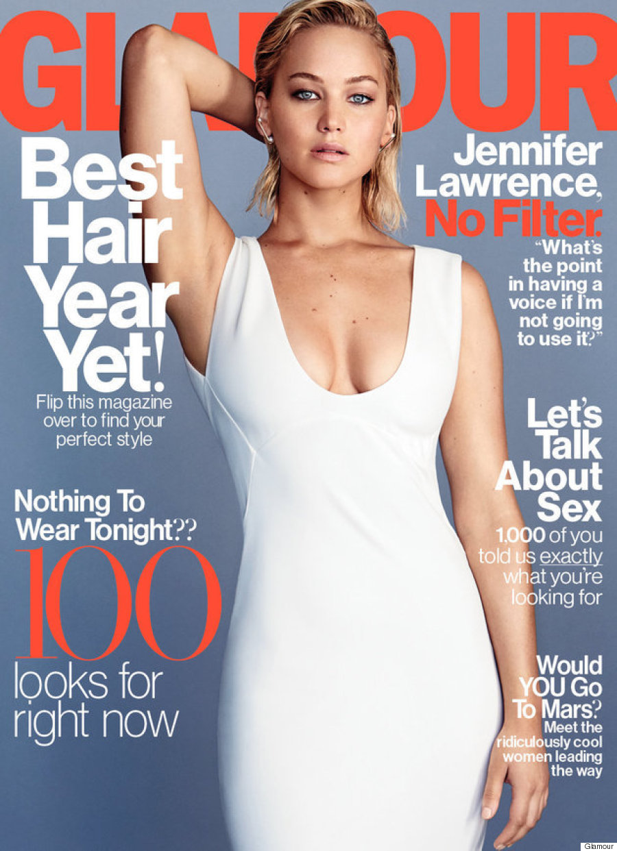 jennifer lawrence glamour magazine