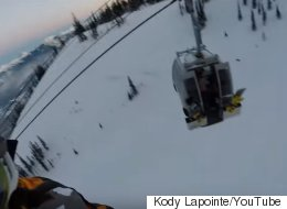 Now That's A Sweet Rescue From A B.C. Ski Hill