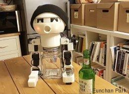 Ce robot pourrait devenir votre compagnon de beuverie (VIDÉO)