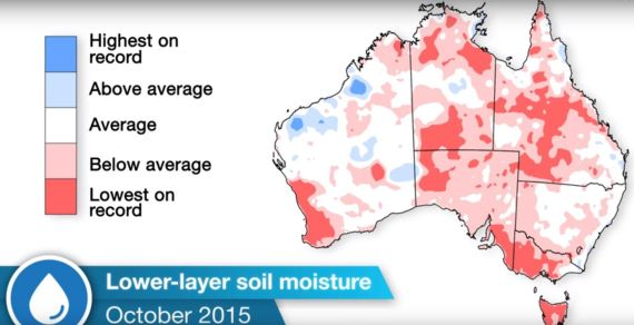 bureau of meteorology soil moisture drought