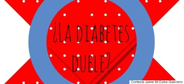 ¿La diabetes duele?, a mí me duele en el alma