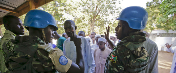 PEACEKEEPING FORCES IN AFRICA