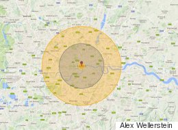 If North Korea Dropped Its Nuclear Weapons On Westminster This Is What Would Happen