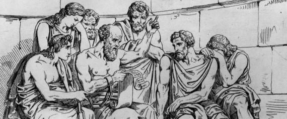 SOCRATES PAINTING