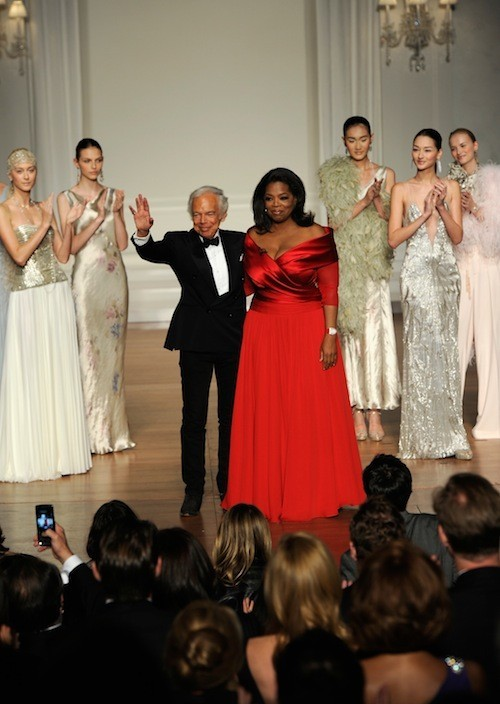 Ralph Lauren Oprah Winfrey Host Benefit Photos Huffpost