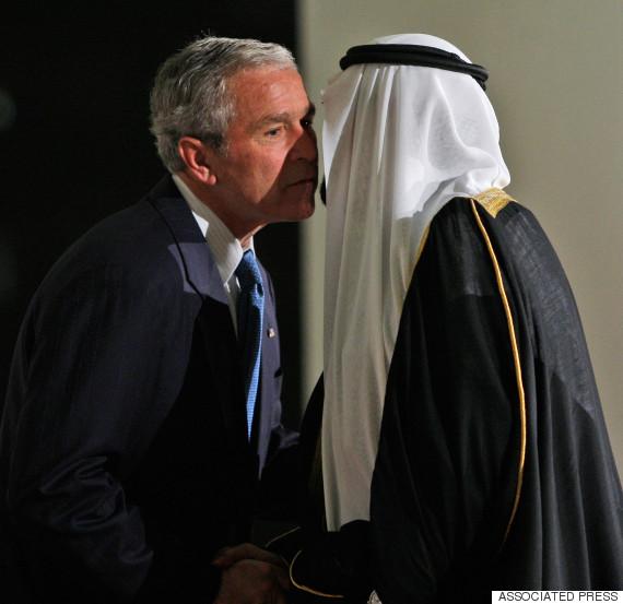 george bush saudi king