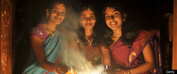 PICTURES OF THE DAY DIWALI