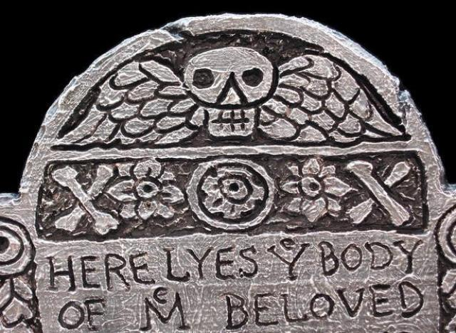 faux tombstones will instantly bring the halloween spirit to your home the key thing to remember the older they look the spookier theyll be
