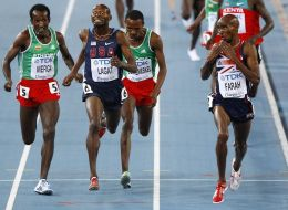 People Are Photoshopping A Funny Picture Of Mo Farah To Make It Even Funnier