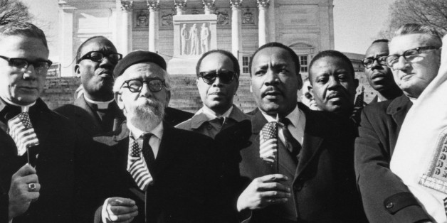 Image result for dr king and rabbi abraham