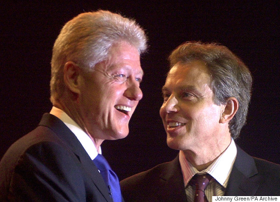 tony blair bill clinton