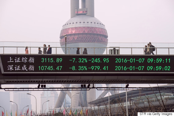 shanghai stock market crash