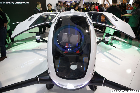 ces passenger drone