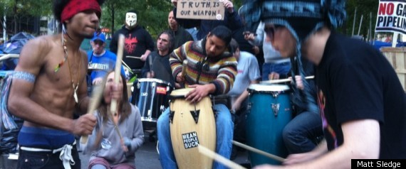 OCCUPY WALL STREET DRUMMERS