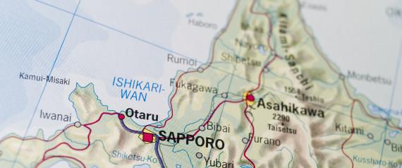 HOKKAIDO MAP