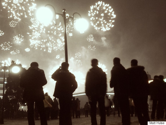 new years eve kim il sung square