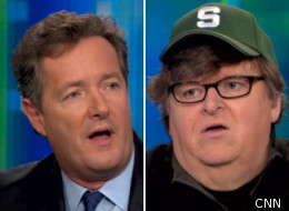 Piers Morgan Michael Moore