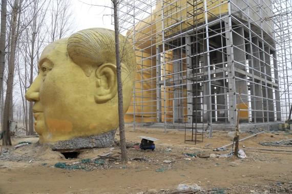 mao statua