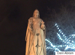 This Graffitied 'Anatomically Correct' Queen Victoria Statue Is Causing A Stir