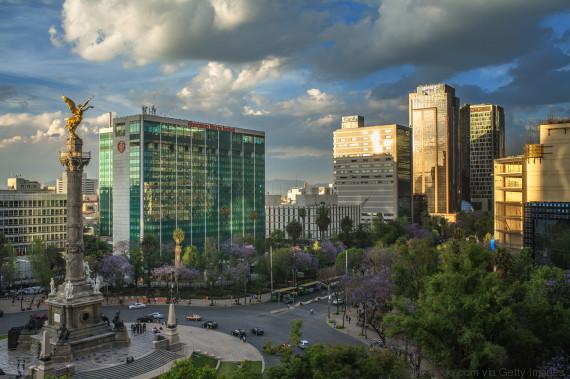 mexico city view reforma