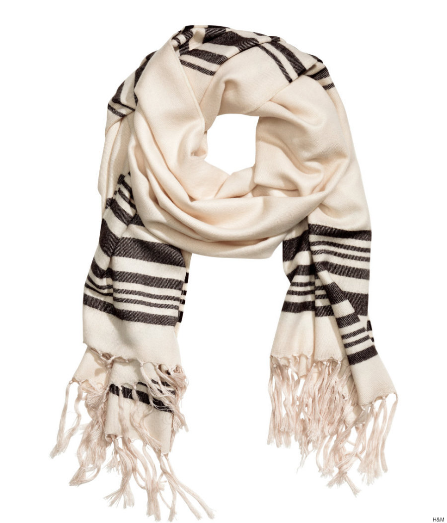 h m apologizes for controversial prayer scarf