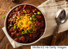 28 Chili Recipes To Serve Up On Super Bowl Sunday (Or Anytime)