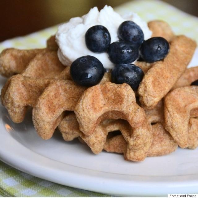 flax seed waffles