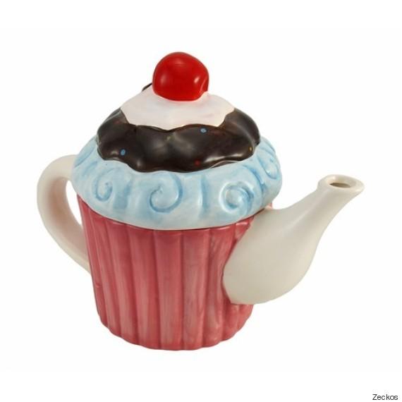 zeckos cupcake teapot