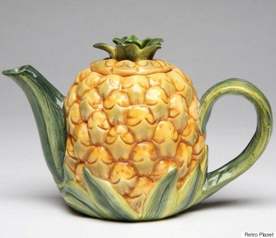 pineapple teapot