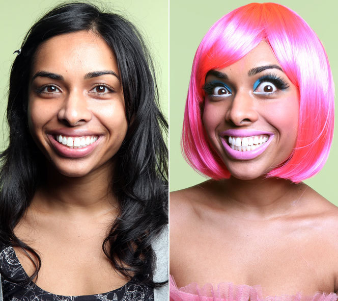 Nicki Minaj: Halloween Makeup How-To | HuffPost Life