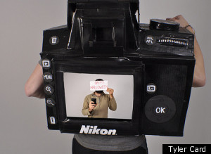Camera Halloween Costume