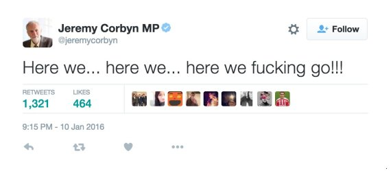 corbyn tweets