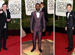 Golden Globes: les hommes restent classiques (PHOTOS)