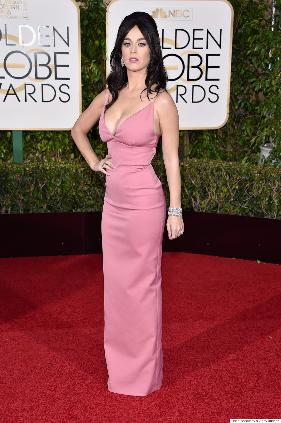 katy perry golden globes