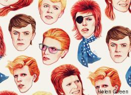 La historia tras el GIF (de nuevo viral) de las mil caras de Bowie