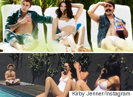 This Guy Is Photoshopping Himself Into The Kardashians' Instagram Pictures Just For Fun