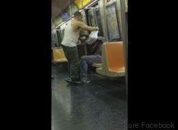 Cet itinérant était torse nu dans le métro, il lui offre sa chemise