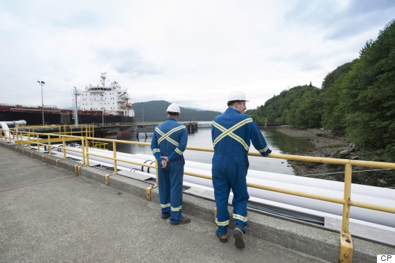 trans mountain pipeline kinder morgan