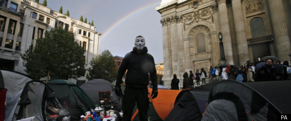 ST PAULS OCCUPY
