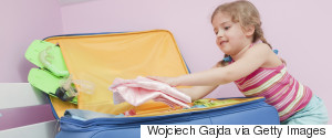 PACKING KIDS SUITCASE