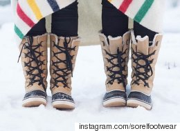 Look Chic In The Snow With These Winter Boots