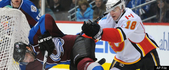 FLAMES BEAT AVALANCHE
